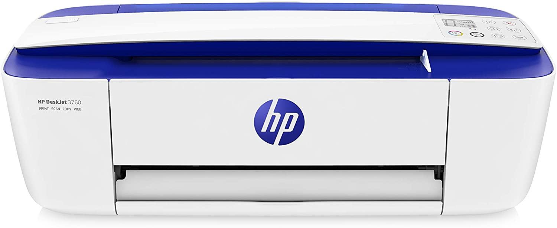 HP DeskJet 3760 Multifunzione a Getto d'Inchiostro Wifi ...