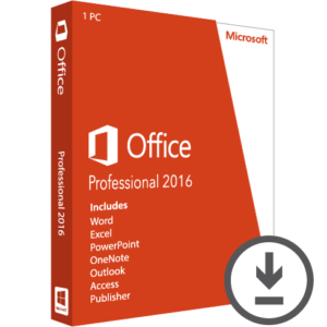 Microsoft Office 2016 Professional Licenza ESD_1